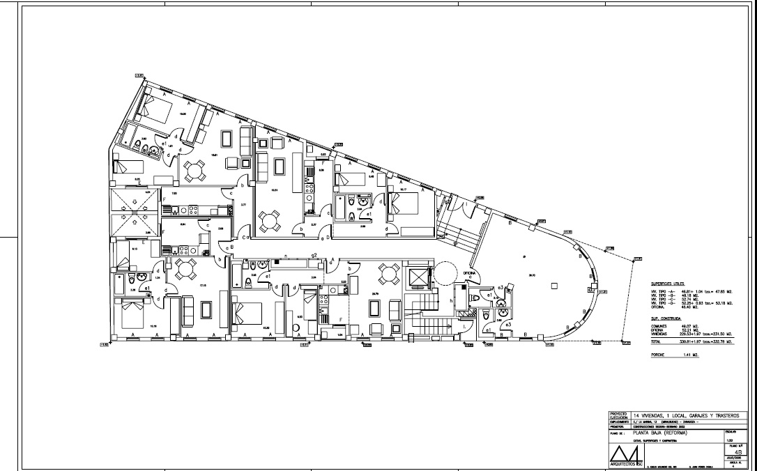 Planos for Clasificacion de los planos arquitectonicos